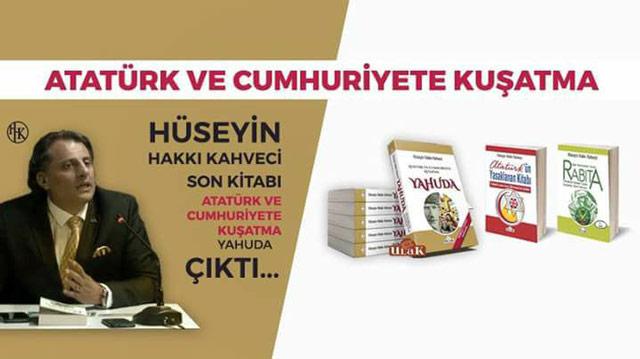 Atatürk ve Cumhuriyete Kuşatma Yahuda Çıktı