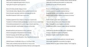 Cemal AYDOĞAN – Sayıların Sırrı, ANKARA 30.04.2019
