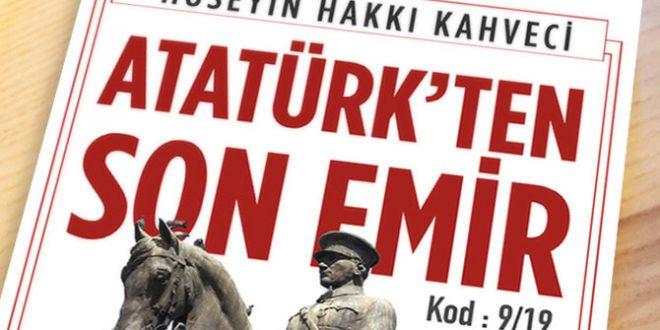"""""""ATATÜRK'TEN SON EMİR"""" Okurlarla Buluştu"""